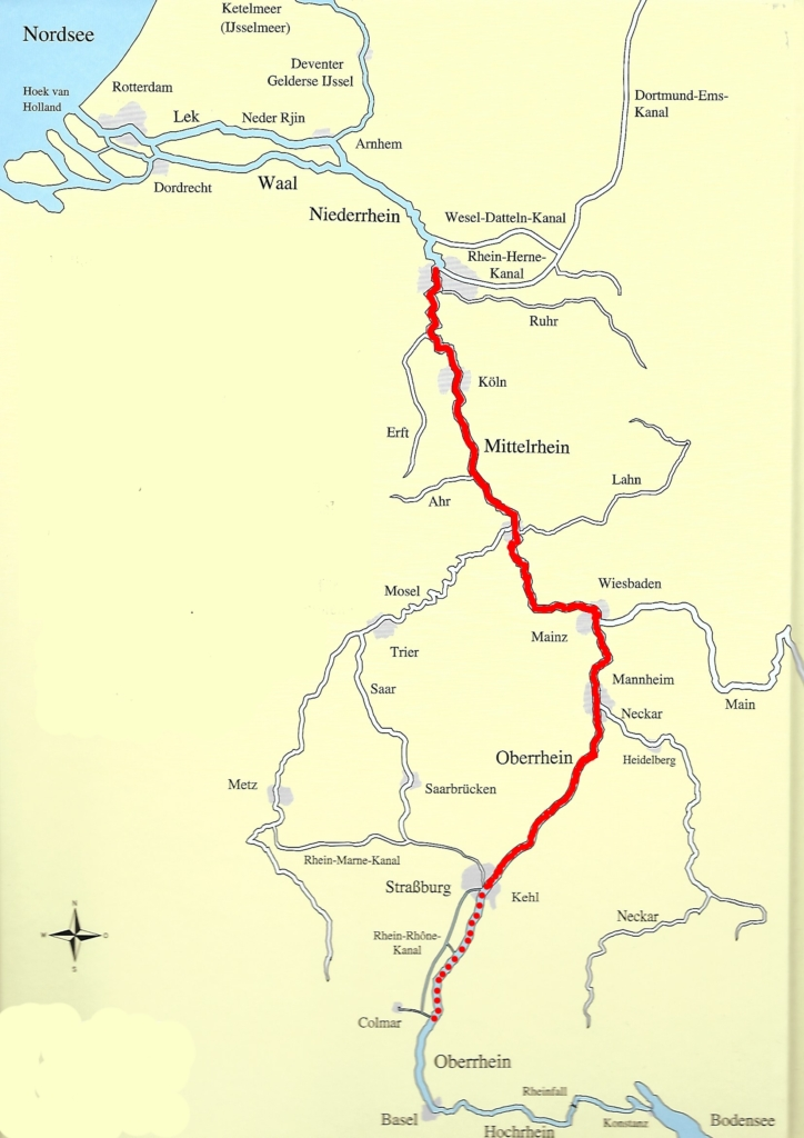 Rhinen hjem m. rute
